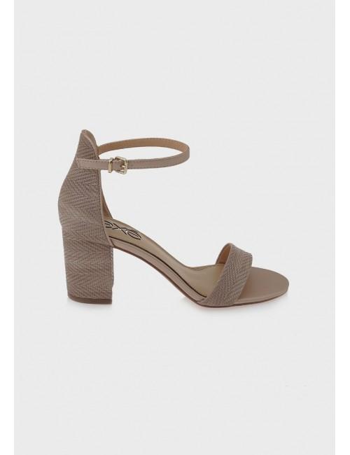 Γυναικείο παπούτσι EXE M47003534775 δέρμα NUDE